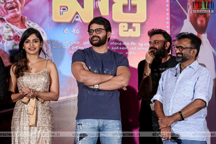 Shyam At The 'Party' Audio Launch