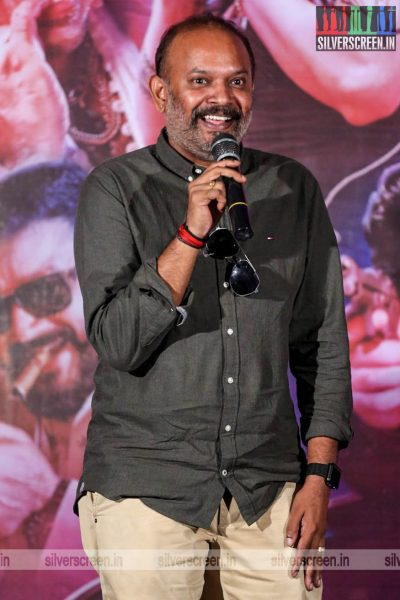 Venkat Prabhu At The 'Party' Audio Launch