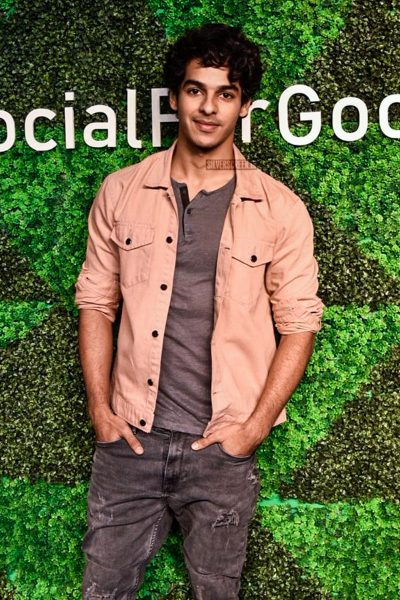 Ishaan Khattar At The 'Social For Good' Event