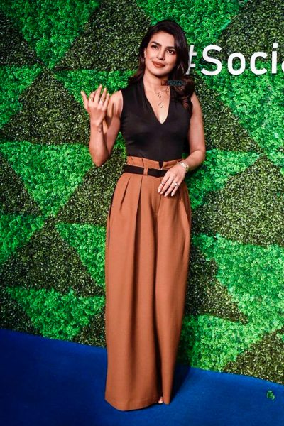 Priyanka Chopra At The 'Social For Good' Event