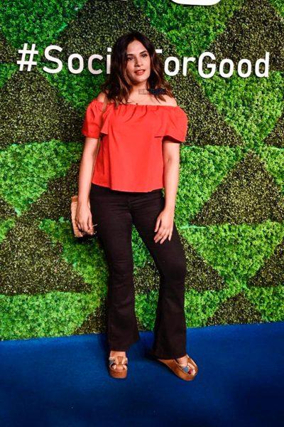 Richa Chadda At The 'Social For Good' Event