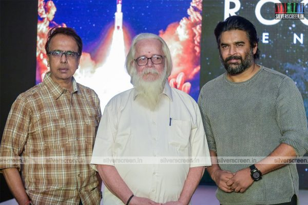 R Madhavan, Ananth Mahadevan, Nambi Narayanan At The Rocketry Teaser Launch