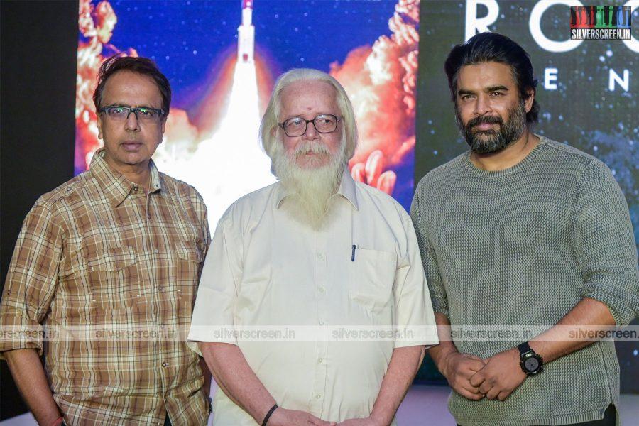 R Madhavan, Ananth Mahadevan, Nambi Narayanan At The Rocketry Teaser Launch
