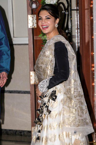 Jacqueiline Fernandez At Shilpa Shetty's Diwali Party