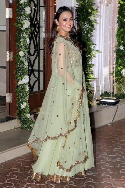 Preity Zinta At Shilpa Shetty's Diwali Party
