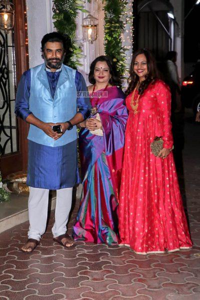 R Madhavan At Shilpa Shetty's Diwali Party