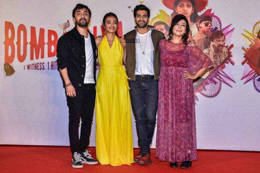 Radhika Apte, Siddhanth Kapoor At The 'Bombairiya' Trailer Launch