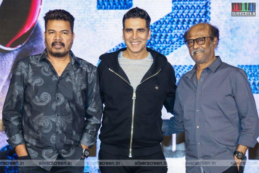 Rajinikanth, Akshay Kumar, AR Rahman Promote '2.0'