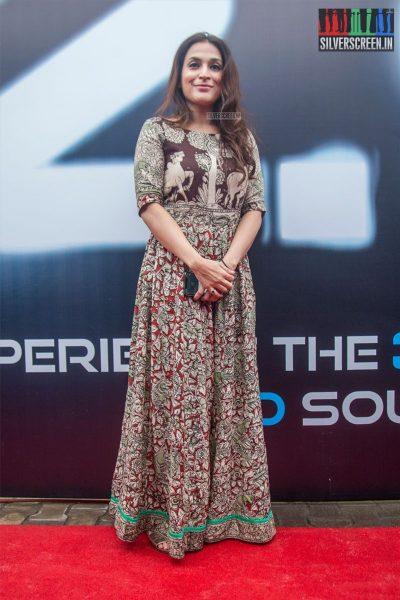 Aishwarya Dhanush At The 2.0 Trailer Launch