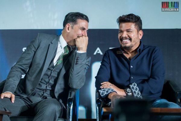 Akshay Kumar, Shankar At The 2.0 Trailer Launch