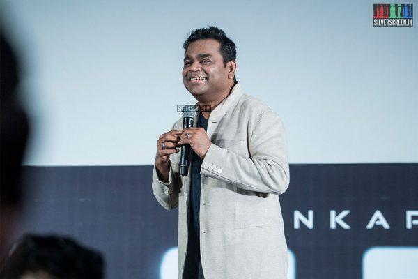 AR Rahman At The 2.0 Trailer Launch