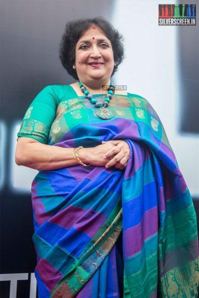 Latha Rajinikanth At The 2.0 Trailer Launch