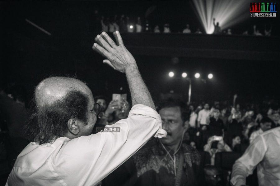 Rajinikanth At The 2.0 Trailer Launch