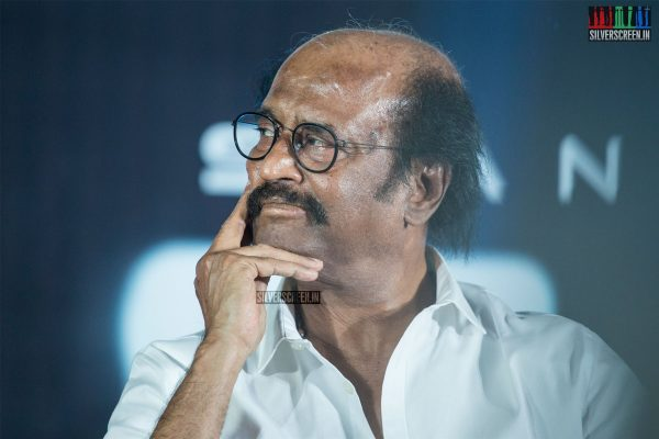 Rajinikanth At The 2.0 Trailer Launch