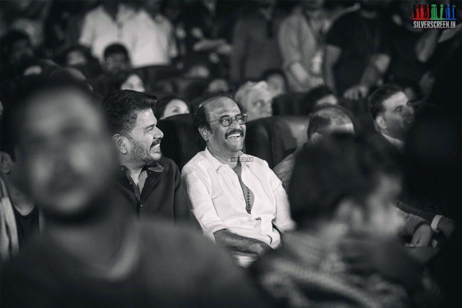 Rajinikanth, Shankar At The 2.0 Trailer Launch