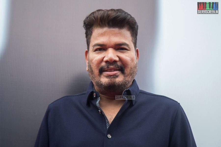 Shankar At The 2.0 Trailer Launch