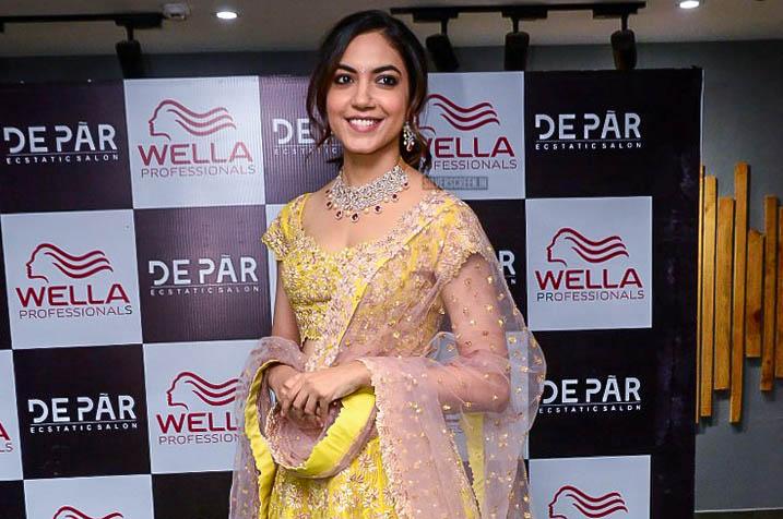 Ritu Varma At A Salon Launch