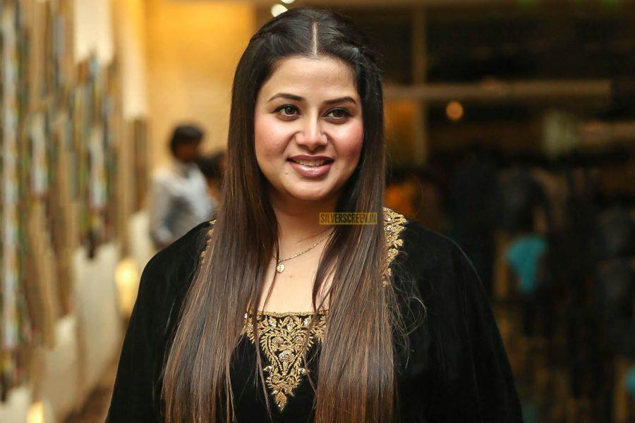 Sangeetha Krish At The 'Telangana Devudu' Audio Launch