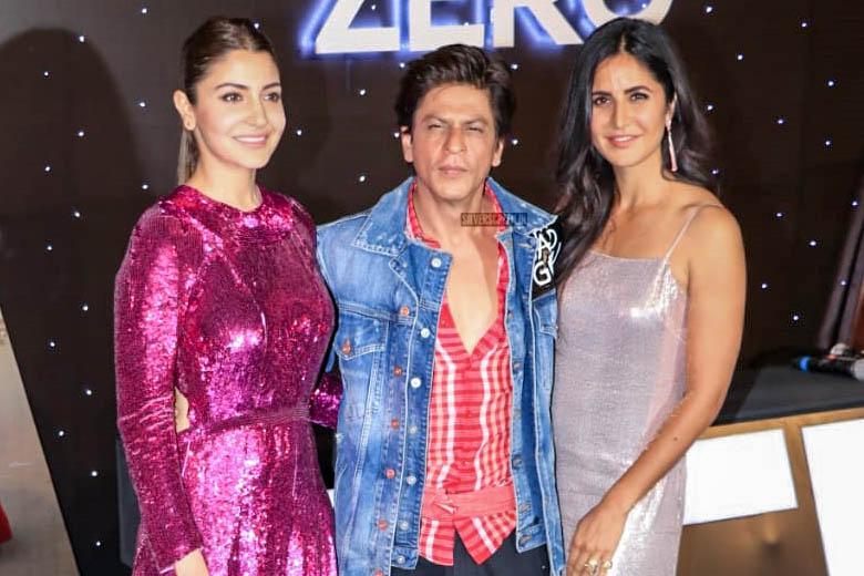 Shah Rukh Khan, Anushka Sharma, Katrina Kaif At The 'Zero' Trailer Launch