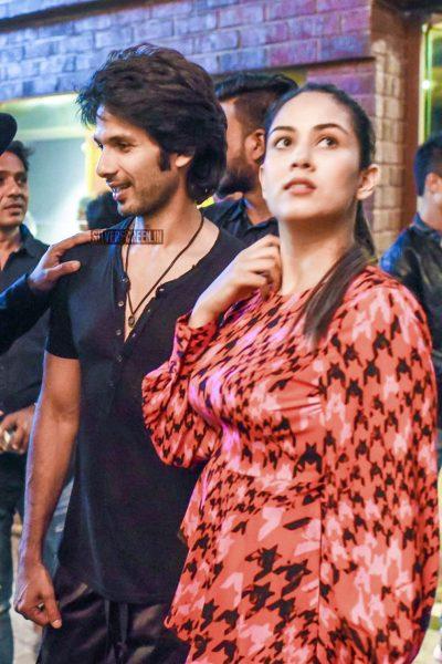 Shahid Kapoor, Mira Rajput AT The Bosco Martis' Birthday Function