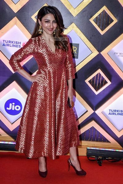 Soha Ali Khan At The Closing Ceremony Of Jio MAMI Film Festival 2018