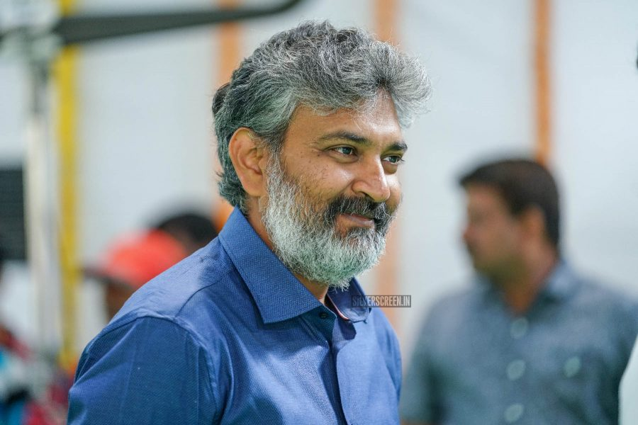 SS Rajamouli At The RRR Movie Launch