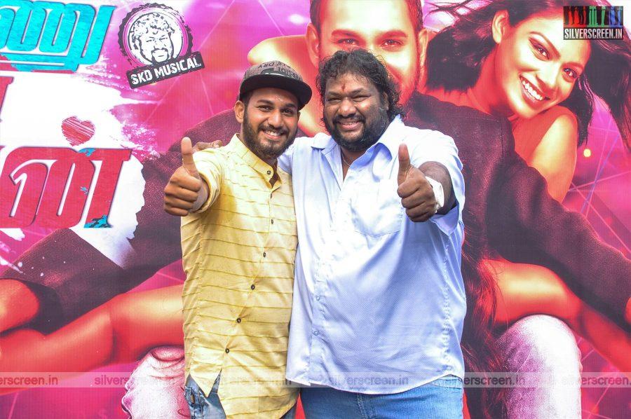 Srikanth Deva At The Super Ponnu Sumarana Paiyan Movie Launch