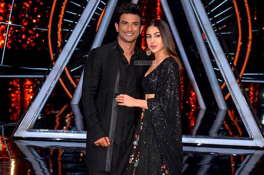 Sushant Singh Rajput, Sara Ali Khan Promote 'Kedarnath' On The Sets Of Indian Idol