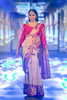 Swara Bhaskar Walks The Ramp For Arpitha Randeep At Mysore Fashion Week Season 5