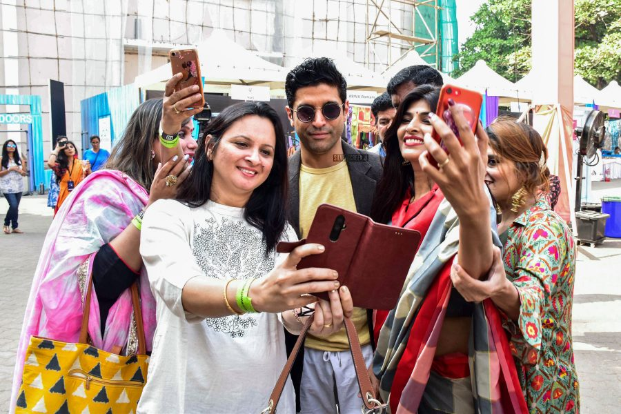 Farhan Akhtar At The 'We The Women' Event