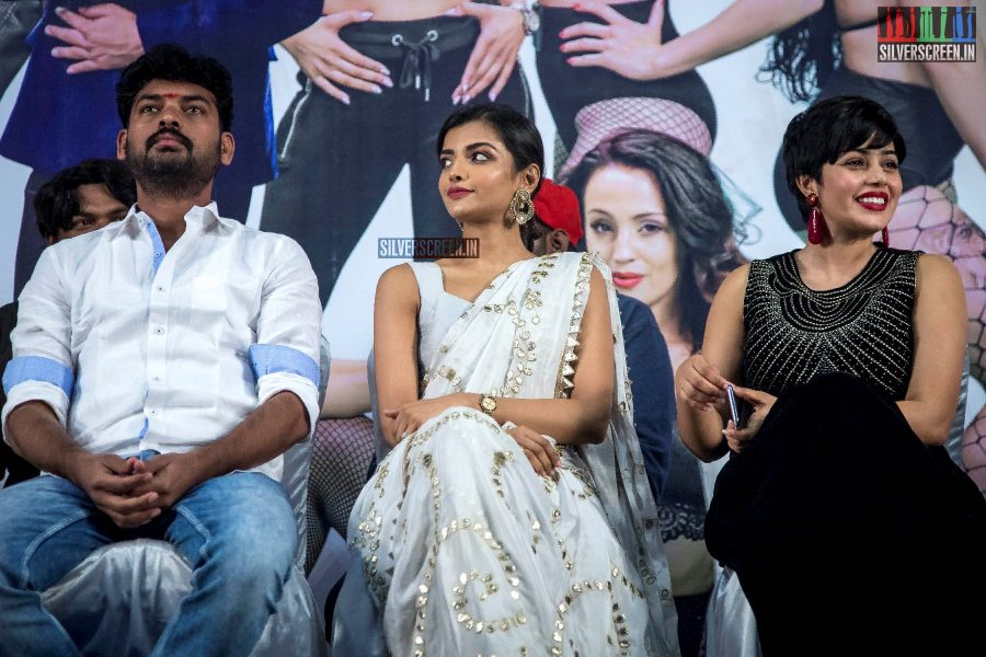 Ashna Zaveri, Vimal, Poorna At The 'Evanukku Engeyo Matcham Irukku' Audio Launch