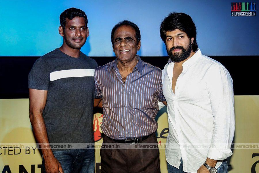 Vishal, Yash At The KGF Trailer Launch