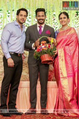 Bharath At Chandini Tamilarasan Wedding Ceremony