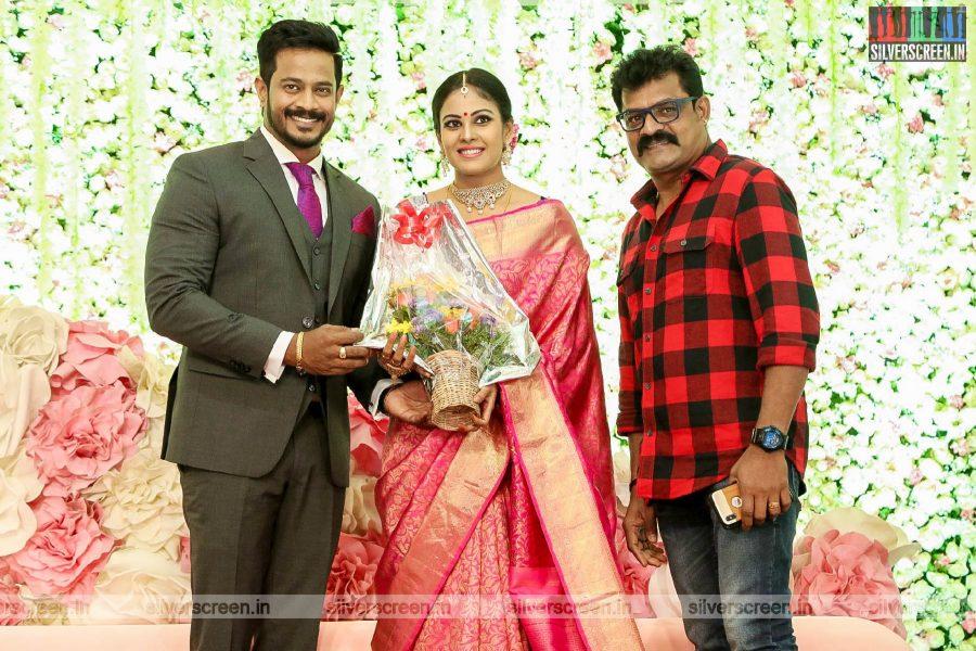 Bose Venkat At Chandini Tamilarasan Wedding Ceremony