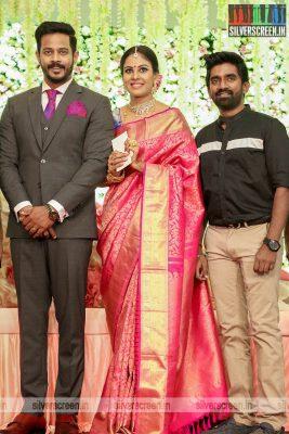Dharan Kumar At Chandini Tamilarasan Wedding Ceremony