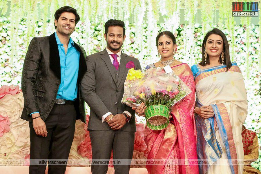 Ganesh Venkatraman At Chandini Tamilarasan Wedding Ceremony