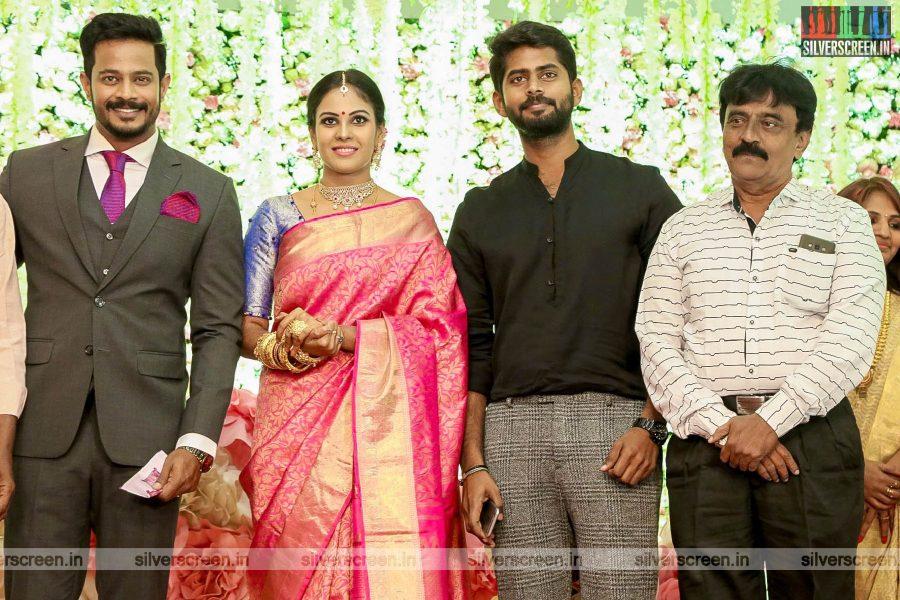 Kathir At Chandini Tamilarasan Wedding Ceremony