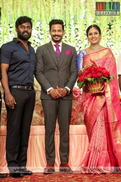 RK Suresh At Chandini Tamilarasan Wedding Ceremony