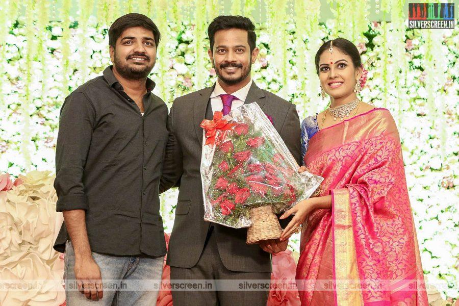 Sathish At Chandini Tamilarasan Wedding Ceremony