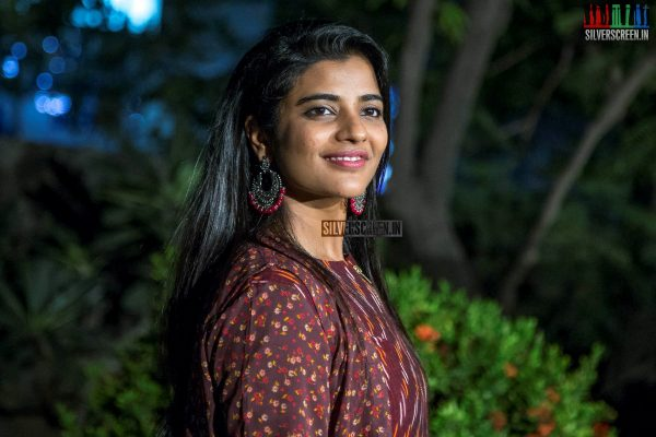 Aishwarya Rajesh At The 'Kanaa' Press Meet