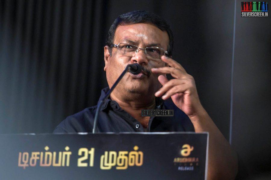 Ilavarasu At The 'Kanaa' Press Meet
