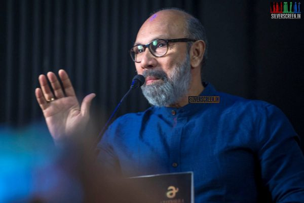Sathyaraj At The 'Kanaa' Press Meet