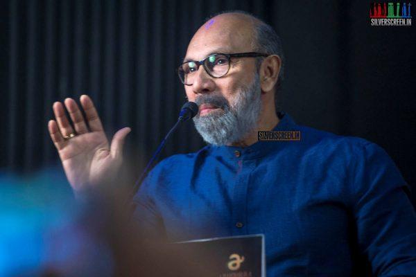 Sathyaraj At The 'Kanaa' Press Meet