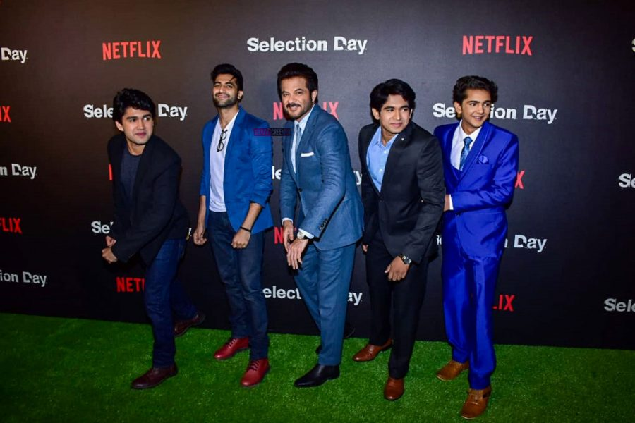 Anil Kapoor At The Screening Of Netflix's Original Series Selection Day