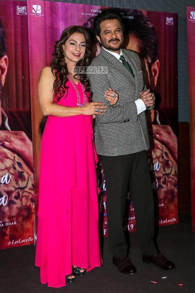 Anil Kapoor, Juhi Chawla At The 'Ek Ladki Ko Dekha Toh Aisa Laga' Trailer Launch