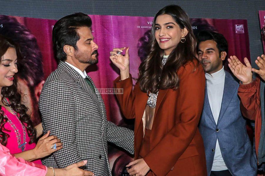 Anil Kapoor, Sonam Kapoor At The 'Ek Ladki Ko Dekha Toh Aisa Laga' Trailer Launch