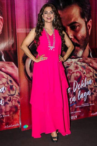 Juhi Chawla At The 'Ek Ladki Ko Dekha Toh Aisa Laga' Trailer Launch