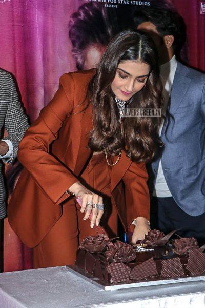 Sonam Kapoor At The 'Ek Ladki Ko Dekha Toh Aisa Laga' Trailer Launch