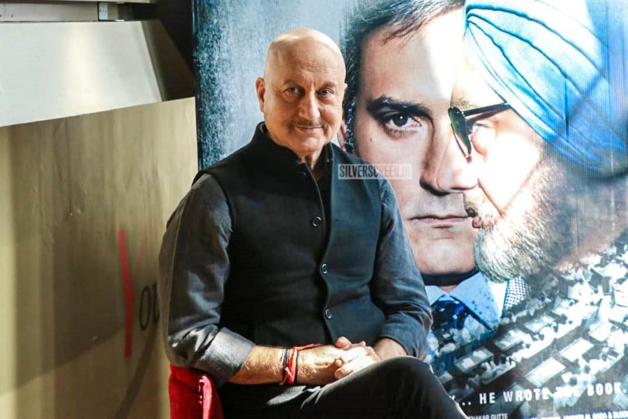 Anupam Kher At The 'The Accidental Prime Minister' Trailer Launch