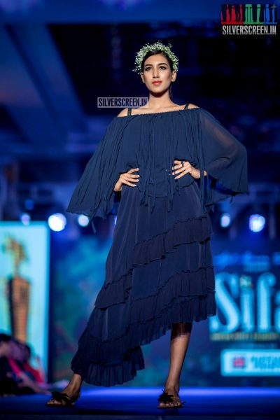 Ashwini At The  South Indian Fashion Awards 2018 In Chennai